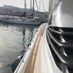 Vernciatura griglie Pershing 90 Olbia Sardegna