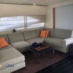 Pershing Refitting Yacht Interior