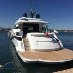 Refitting del teak Yacht Sardegna