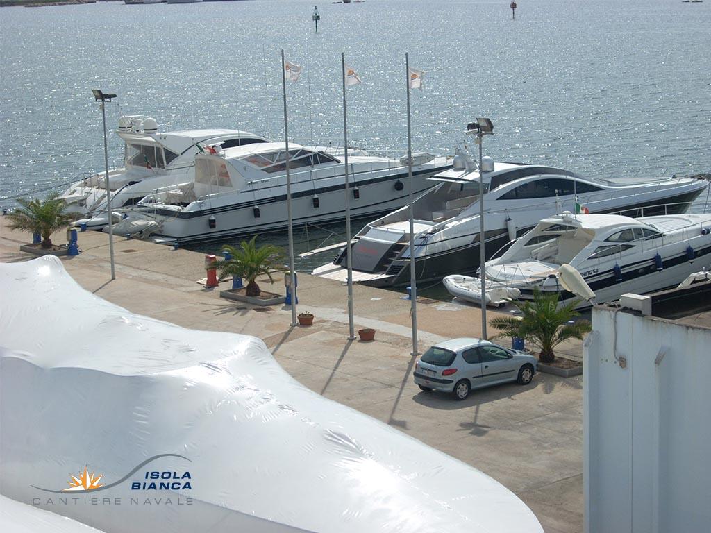 Rimessaggio Imbarcazioni Yacht Olbia