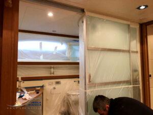 verniciatura yacht interni
